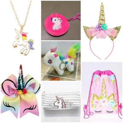 🦄 UNICORN 🦄 Girls Kids Bag Christmas Birthday Cute Gift Pack Rainbow Present