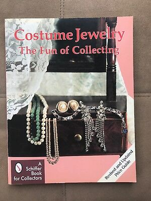 Costume Jewelry: The Fun of Collecting Schiffer Book 1995 PaperBack revised pric