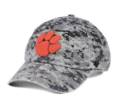 cecd47ea8265c New Clemson Tigers 47 Brand Operation Hat Trick Hat Cap Camouflage Clean Up