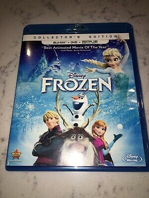 Frozen (Blu-ray/DVD, 2014, 2-Disc Set, Includes Digital Copy)