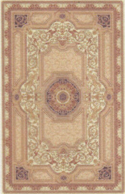 "1:48 Scale Dollhouse Area Rug 0001929 - approximately 1-15/16"" x 3"""