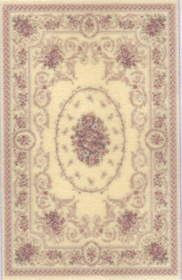 """approximately 2/"""" x 3/"""" 1:48 Scale Dollhouse Area Rug 0001954"""