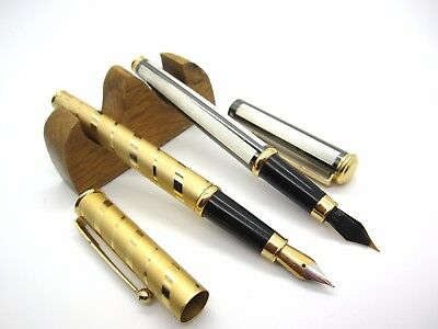 Fountain Pen Goldtone Nib---MEDIUM-NEW OLD STOCK