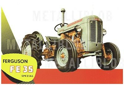 Ferguson FF35 Tractor  - Poster (A3) - (3 for 2 offer)