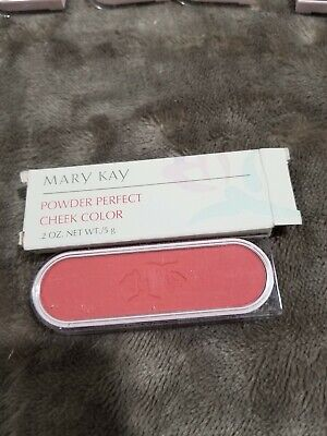 New old stock Mary Kay Powder Perfect Cheek Color Blush Coral 6208