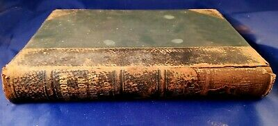 History of Huron County Ohio by A.J. Baughman 1909 Illustrated Vol. 1 Leather