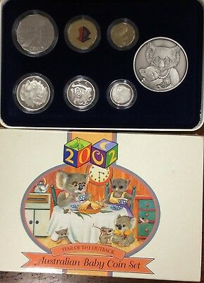 2002  Royal Australian Mint 6 Coin baby Proof Set -