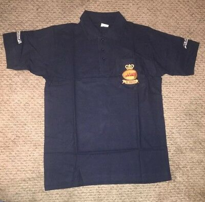 Al Fakher Navy Blue Polo Shirt size M medium