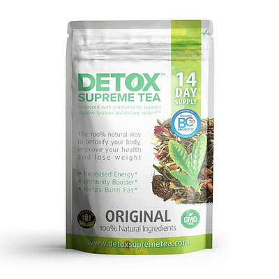 Detox Supreme weight loss Probiotic Tea 14 Days helps with weight loss burns fat