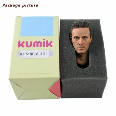 1/6 Scale Head Sculpt KUMIK16-40 Male Korea Star Gel Hair Fit 12'' Phicen toys