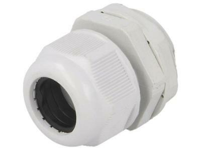 1 X BM4912L Cable gland; with long thread; M12; IP68; Mat polyamide; grey