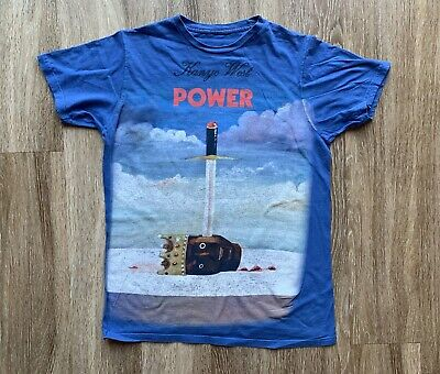 7d68d12fb6c5ea Kanye West White Tank Top The Life Of Pablo Tee YEEZY YEEZUS JAY-Z.  17.49  Buy It Now 17h 3m. See Details. KANYE WEST Yeezy POWER SWORD HEAD IMAGE  BLUE ...
