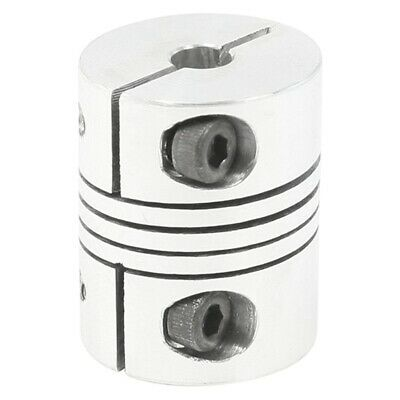 2X(CNC Motor Shaft Coupler 5mm to 8mm Flexible Coupling 5mmx8mm H2Y4)