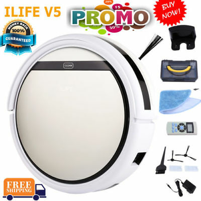 ILIFE V5 Smart Staubsauger Cleaning Roboter Automatic Sweeping Vacuum Cleaner EU