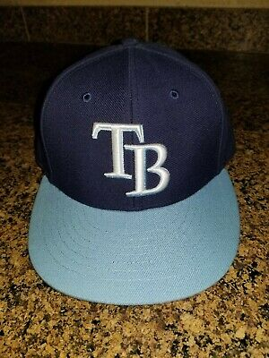 new concept bc53e 64235 TAMPA BAY RAYS New Era 2 Tone Adjustable Hat Cap 9Forty One Size MLB NEW