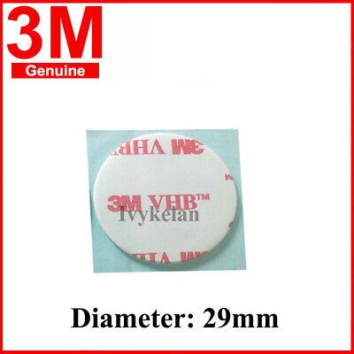 3M VHB 4910 Round Double-sided Acrylic Foam Tape 29mm diameter 1mm thick clear