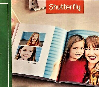 SHUTTERFLY FREE 20 STANDARD PAGES 8x8 PHOTO BOOK, a $29.99 VALUE EXPIRY 07/31/19