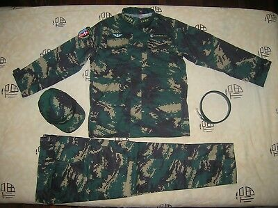 07's series China PLA Special Forces Officer Digital Camo Combat Clothing,Set