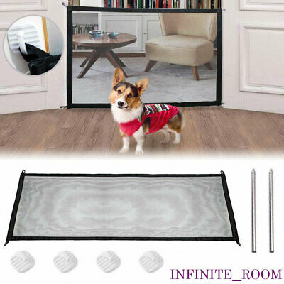 Pet Barrier Portable Folding Net Dog Separation Safety Guard Gate Pet Fence Dog