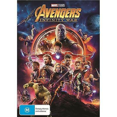 Avengers Infinity War Dvd, New & Sealed, 2018 Release, Free Post
