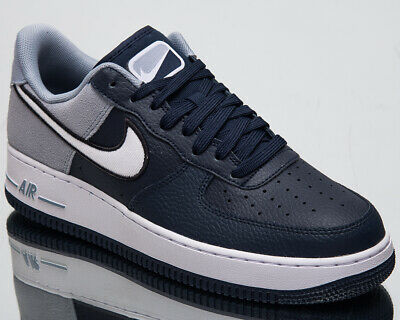 super popular f765b 56783 Nike Air Force 1  07 LV8 1 Men s New Obsidian Lifestyle Sneakers AO2439-400