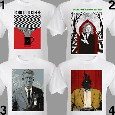 TWIN PEAKS TShirt S M L XL 2XL 3XL David Lynch. Damn Fine Coffee. FAN TRIBUTES