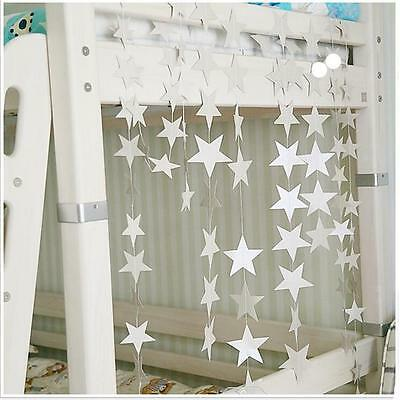 Star Paper Garlands Party Birthday Wedding Kids Room Wall Door Hanging Decor LI
