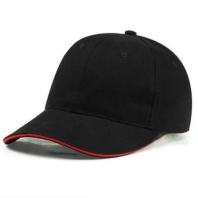 Men Women Blank Baseball Cap Casual Bboy Snapback Hats Hip-Hop Adjustable LI