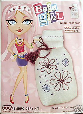 Bead Girl Potpourri Bag - Semco stitchery kit