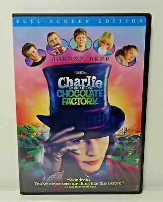 Charlie and the Chocolate Factory DVD, Tested