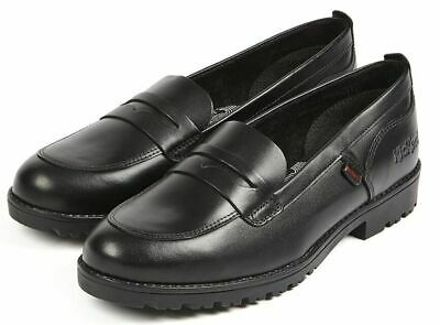 1-14210 Women/'s//Girl/'s Lachly Loafer Black