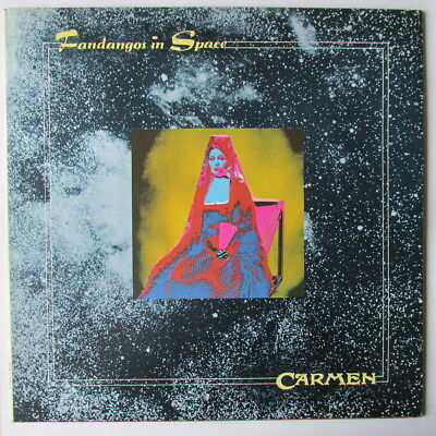 CARMEN FANDANGOS IN SPACE UK 1973 1st PRESS LP folk progressive LP