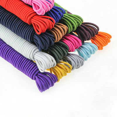 2.8mm DIY 10m Round Elastic Band Cord Sewing Craft Stretch Material Soft Rope