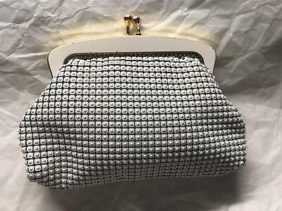 Vintage Genuine OROTON White Coin Purse VGC