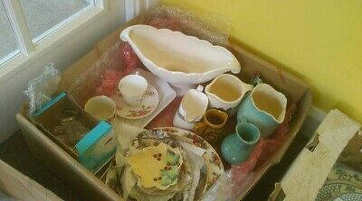 A Collection of 21 Unusual and Pretty Vintage Jugs, China and Plates