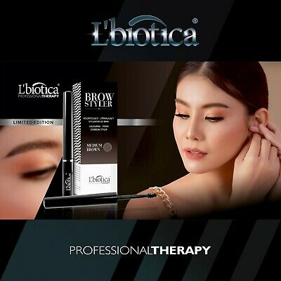 L'Biotica BROW STYLER Eyebrow Styling Gel Henna Extract Brow Tint Dye Tattoo