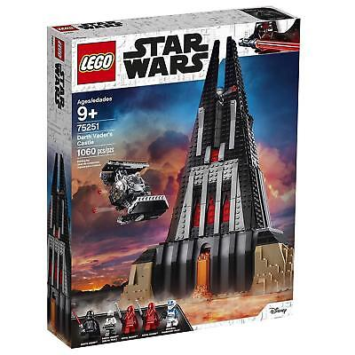 LEGO STAR WARS - 75251 Darth Vader's Castle - New & Sealed - Ready To Ship