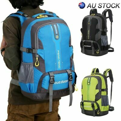 50L Large Hiking Backpack Outdoor Camping Travel Sports Climbing Bag Rucksacks