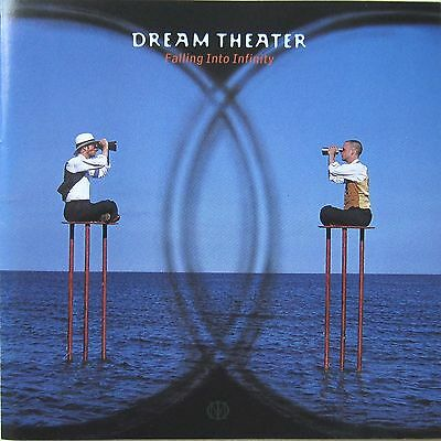 "DREAM THEATER - ""Falling Into Infinity"", 1997, John Petrucci, Mike Portnoy, CD"