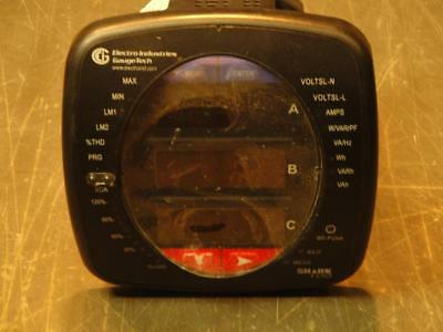 Electro Ind. Shark 100 Multifunction Power and Energy Meter Revenue Grade