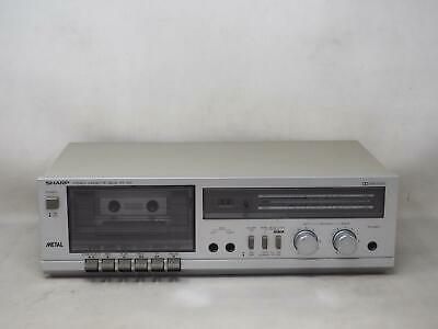 SHARP RT-100 STEREO CASSETTE RECORDING DECK Works Great! Free Shipping!