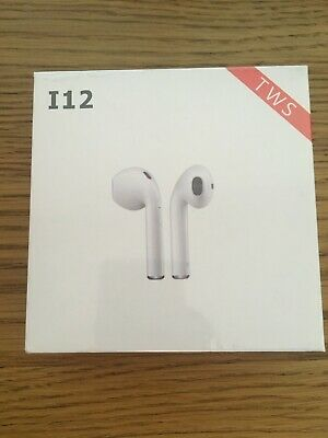 i12 TWS Latest Wireless Bluetooth Earphones for Smartphones - UK STOCK
