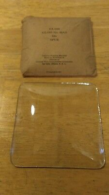 One Genuine West Clock Convex Glass (New in Box)  Parts