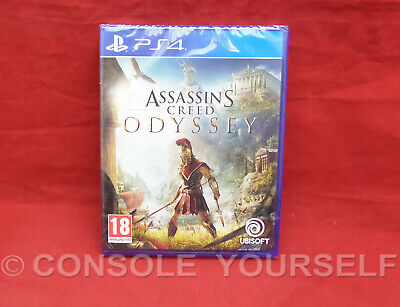Assassin's Creed Odyssey - Brand New Sealed - Playstation 4 Ps4 - Pal Uk