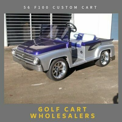 Golf Cart ,Buggy , Car Full Custom Cart One Of A Kind 1956 F100 Custom Cart