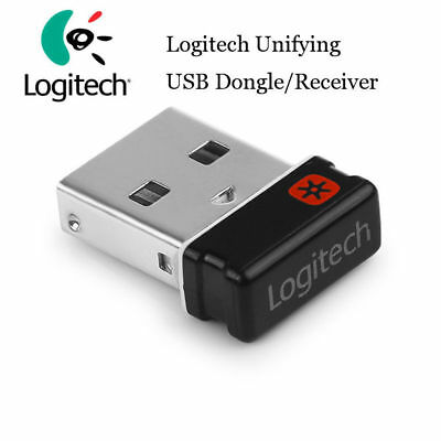 Logitech Unifying Receiver USB Dongle for mouse and keyboard (993-000439-NOB)
