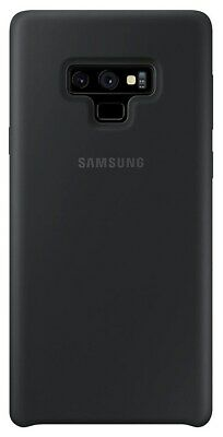 Samsung Silicone Cover (Black) for Galaxy Note9 Smartphones