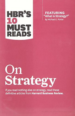 Harvard Business Review (Cor)-Hbr`S 10 Must Reads On Strat (US IMPORT) BOOK NEW