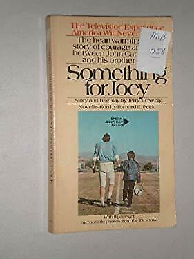 Something for Joey by Peck, Richard, McNeely, Jerry-ExLibrary