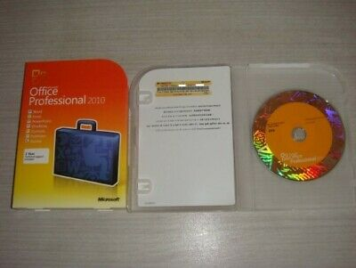 Brand New Microsoft Office Professional 2010 Retail FULL VERSION (3 Computer/s)